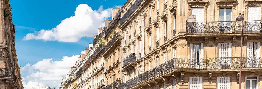Estimation d'un immeuble à paris